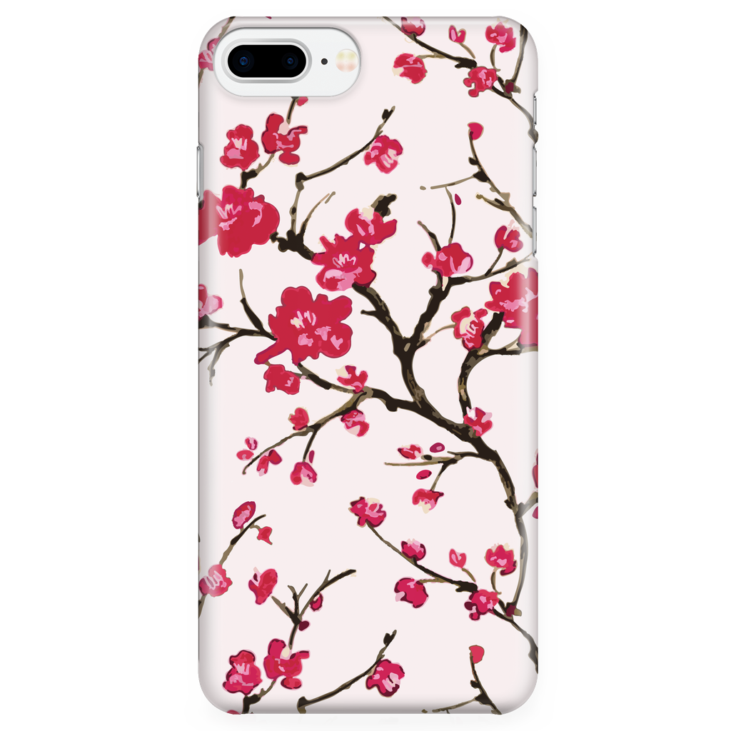 Cherry Blossom - Cute Phone Case for iPhone and Samsung Galaxy