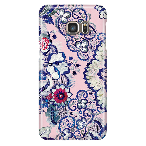 Cute Floral Phone Case Samsung Galaxy S6 Edge Plus - Indigo Blush