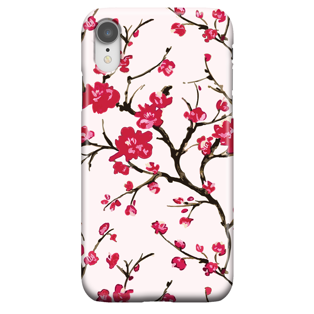Cherry Blossom - Cute Floral Phone Case for iPhone XR