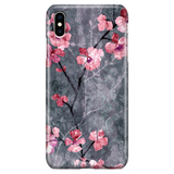 Floral Phone Case - iPhone XS Max - Cherry Blossom Elegant Japanese Style