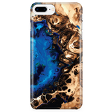 Cute Marble Phone Case for iPhone and Samsung Galaxy - Ocean Blue