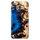 Cool Marble Phone Case for Samsung Galaxy S8 Plus - Ocean Blue