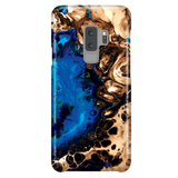 Fluid Art Marble Phone Case for Samsung Galaxy S9 Plus - Ocean Blue