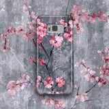 Cute Floral Phone Case, Samsung Galaxy S8 Plus, Cherry Blossom Sakura