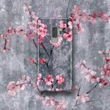 Cute Floral Phone Case, Samsung Galaxy S9 Plus, Cherry Blossom Sakura