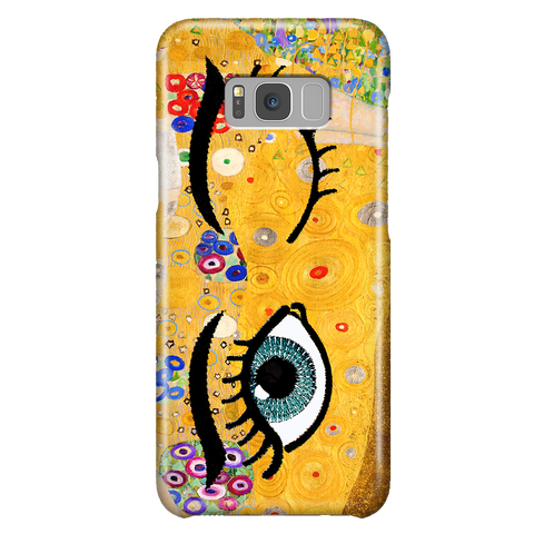 Kiss & Wink - Cute Art Phone Case for Samsung Galaxy S8 Plus
