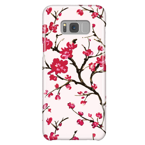 Cherry Blossom - Cute Floral Phone Case for Samsung Galaxy S8 Plus