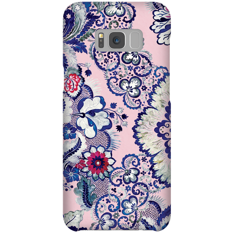 Cute Floral Phone Case Samsung Galaxy S8 Plus - Indigo Blush
