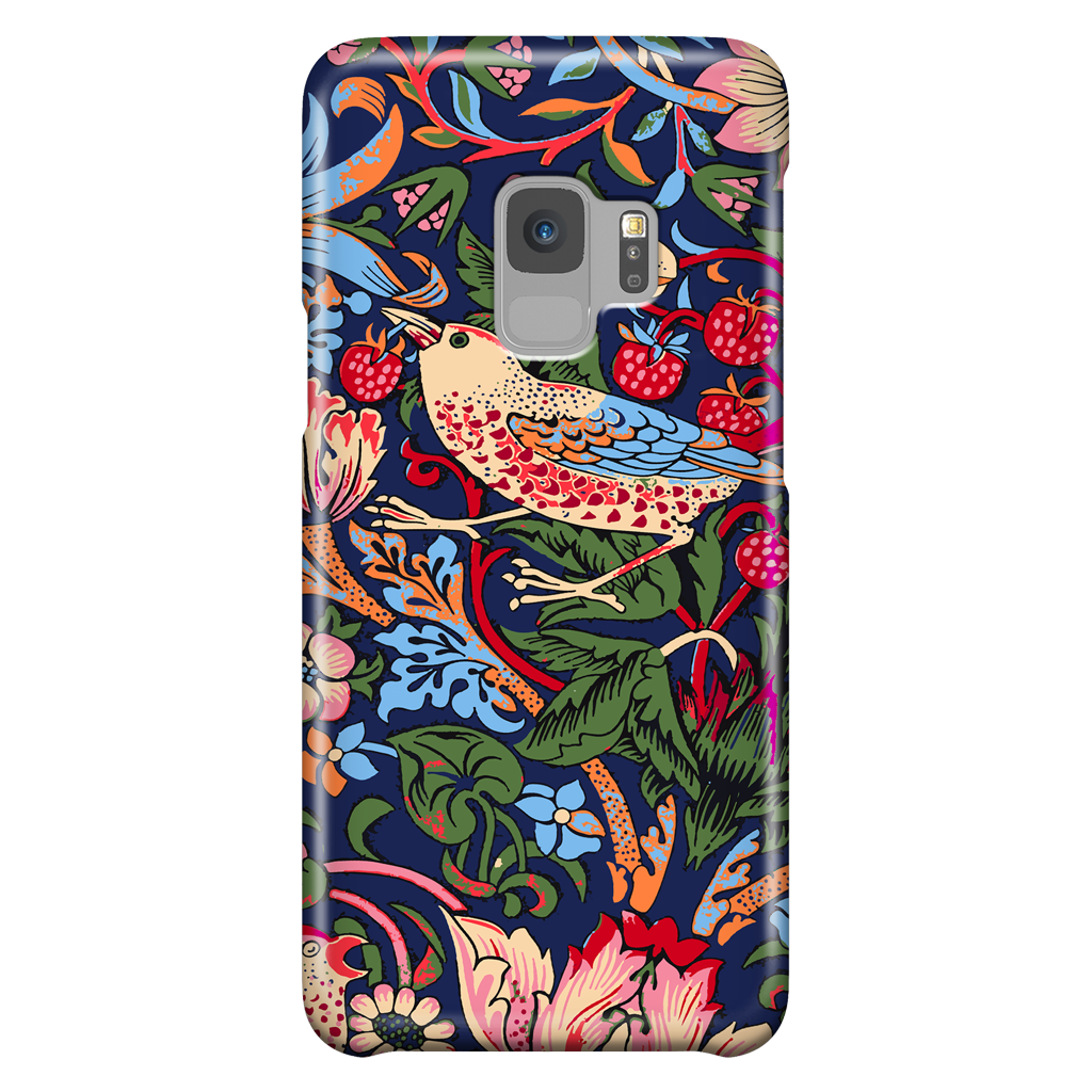 William Morris Strawberry Thief - Phone Case for Samsung Galaxy S9
