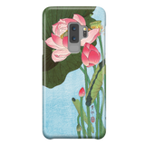 Flowering Lotus - Japanese Art Phone Case for Samsung Galaxy S9 Plus