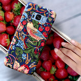 William Morris Phone Case Strawberry Thief - Floral Art, iPhone Galaxy