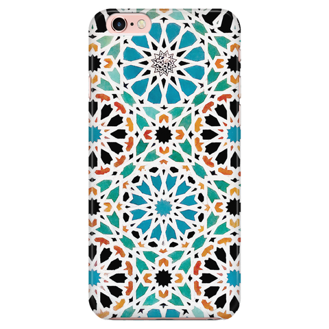 Alhambra Nasrid - Azulejo Phone Case for iPhone and Samsung