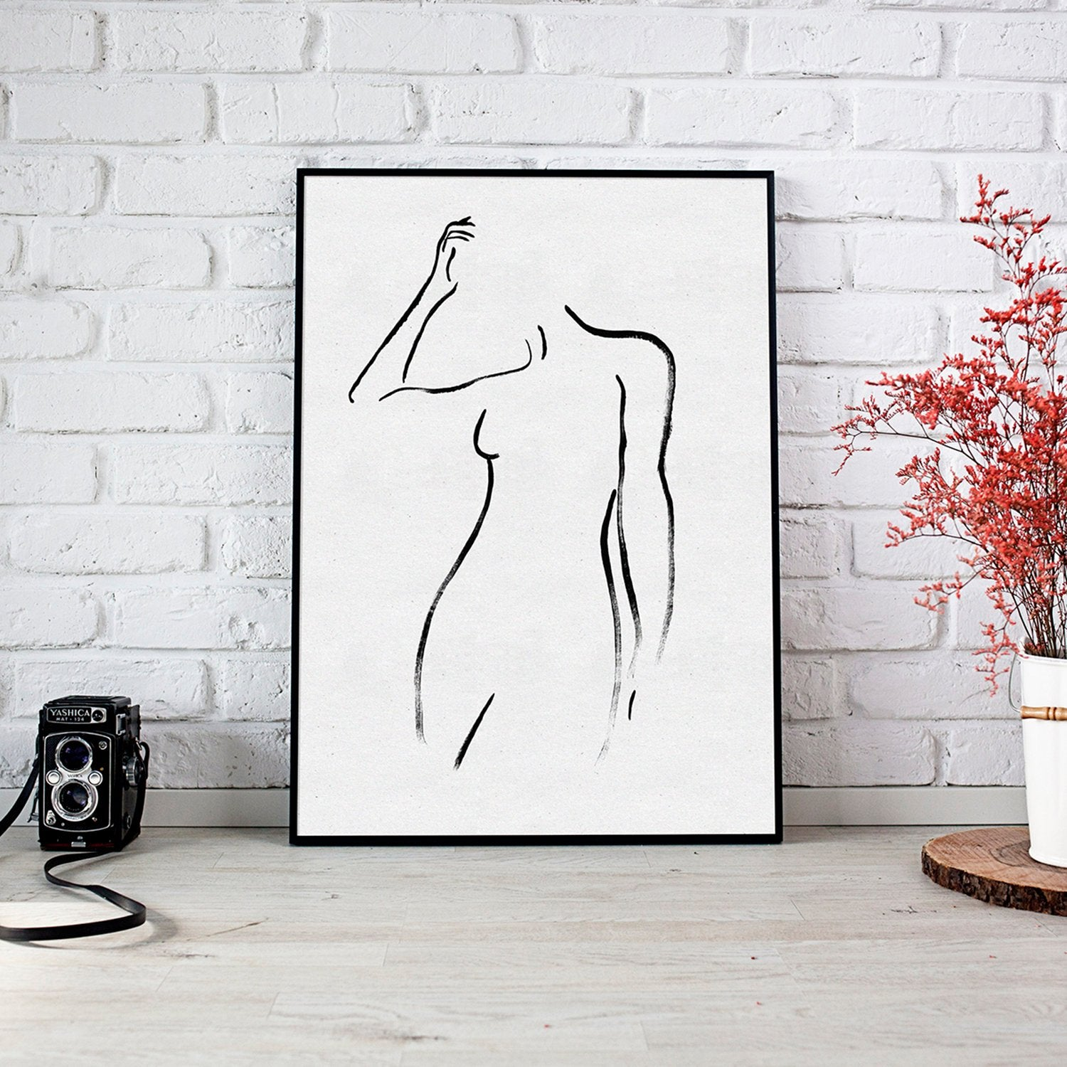 Faceless Nude Art Print
