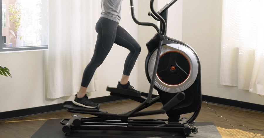 10 Min All-Out Elliptical HIIT Workout