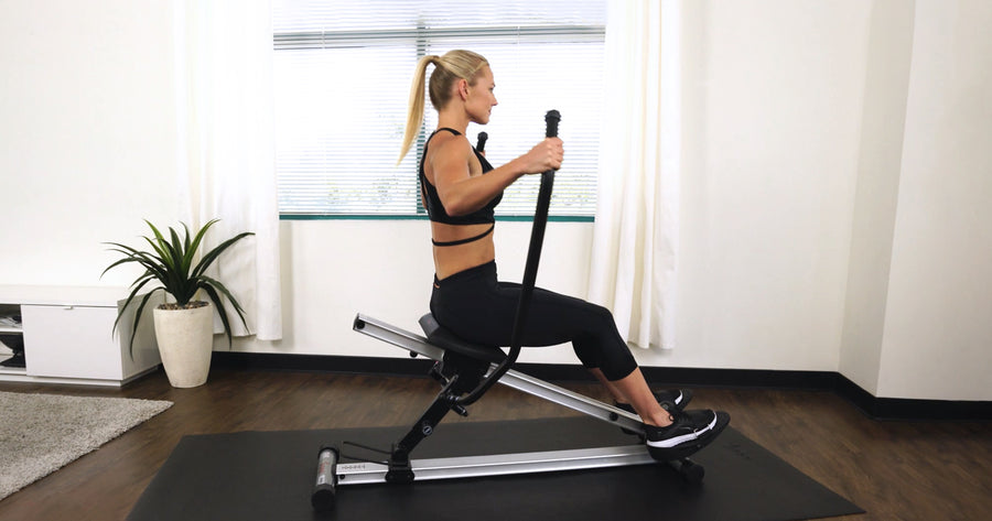 10 Min Incline Rower HIIT