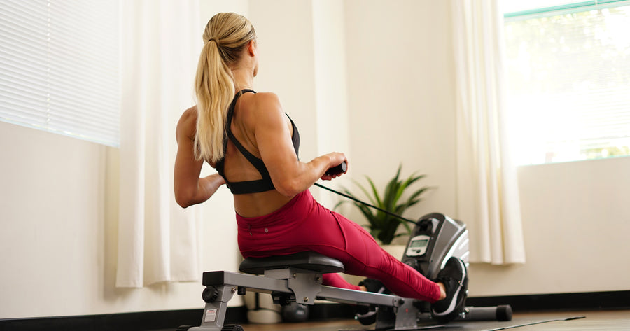 10 Min Rowing Machine Drills for Beginners
