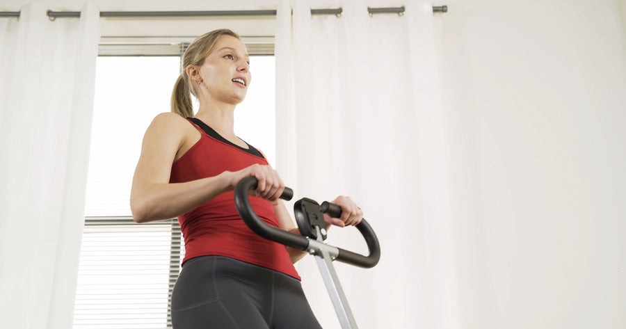 10 Min Row-N-Ride Upper Body-Focused Workout