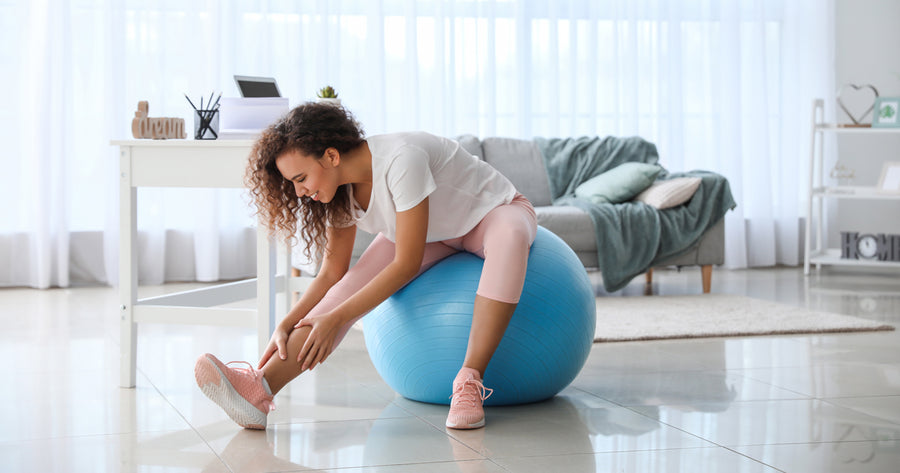 10 Fun & Effective Exercises to do With an Exercise Ball