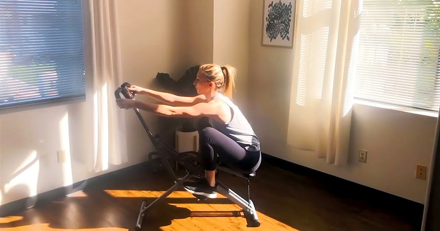 10 Min Row-N-Ride Glute-Focused Workout
