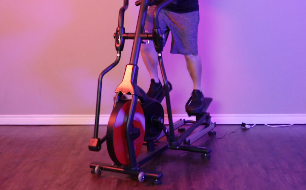 20 Min Intense, Low Impact, Elliptical HIIT Workout