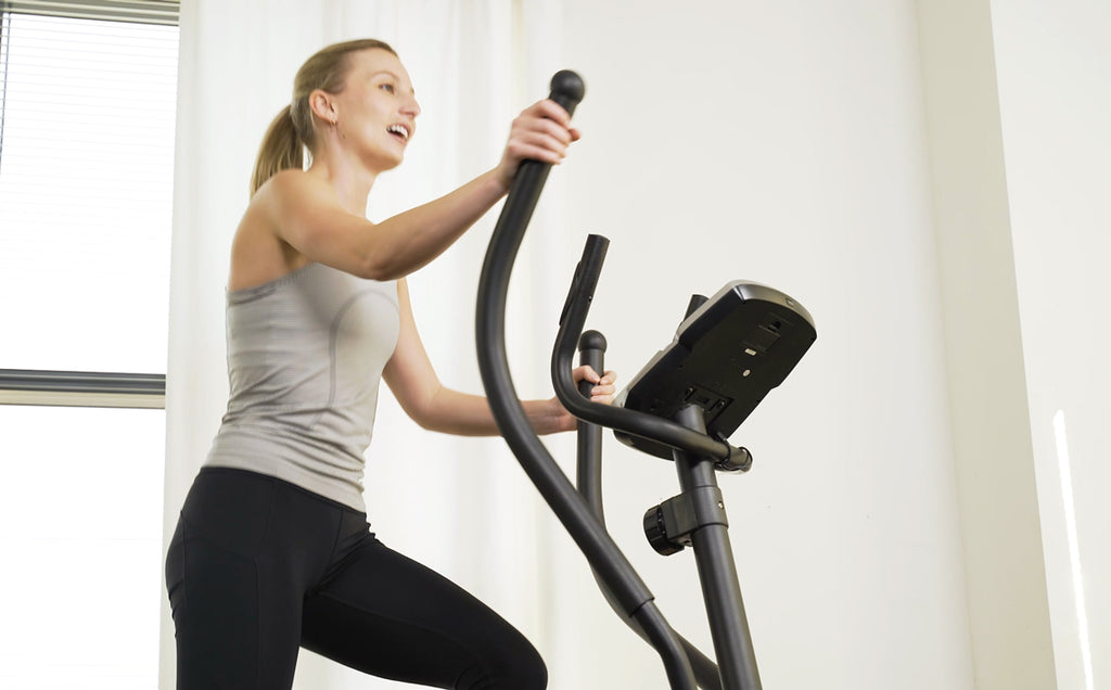 25 Min High Resistance Elliptical Climber Pyramid Intervals Workout