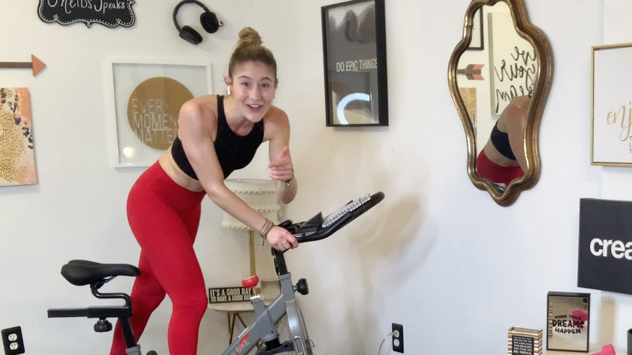 30 Min Heart Pumping Feel-Good Cycle Dance Cardio Workout