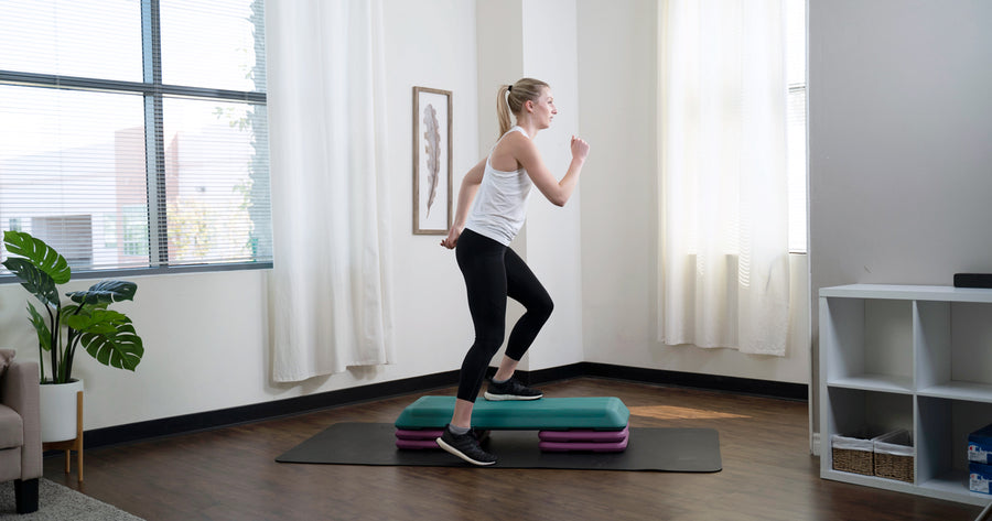 Step Aerobics Benefits & 3 Workouts to Do at Home