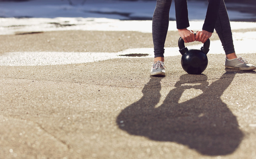 Double Tabata Kettlebell Cycling Workout