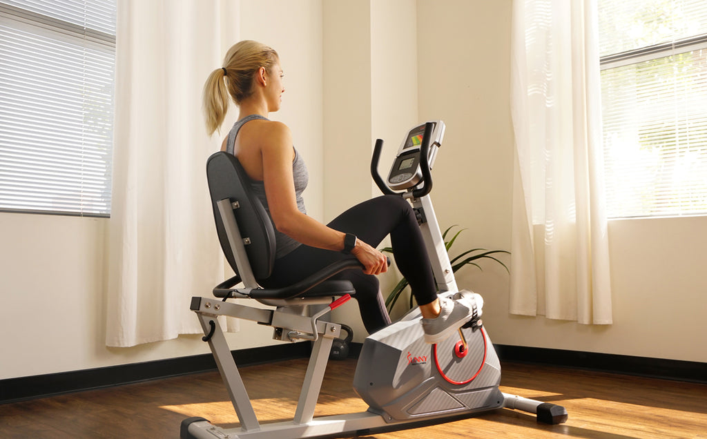 Intermediate Recumbent Bike Endurance Intervals Workout