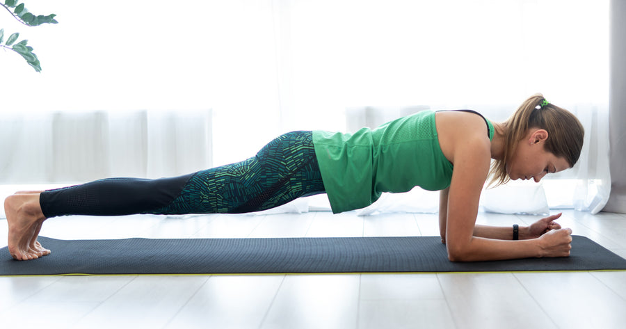 Plank Finisher to Strengthen Core and Tone Abs