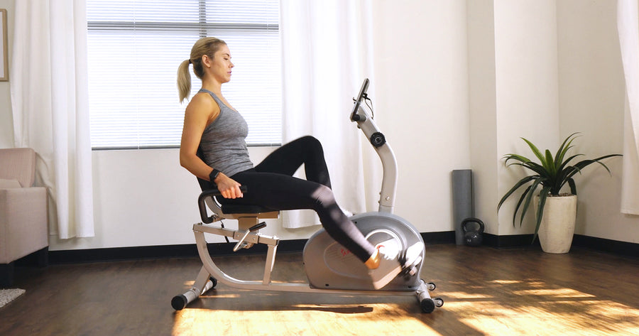 Recumbent Bike With Resistance Bands Workout