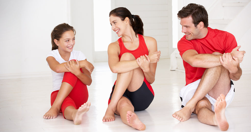 Family fitness: Fun ways to develop fit families