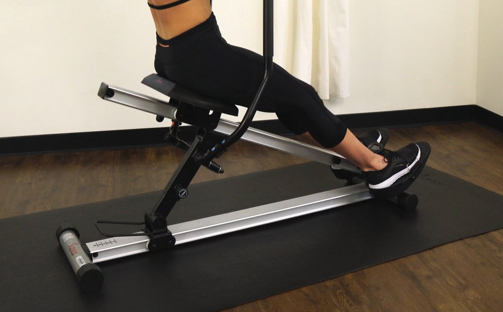 Full Body Rowing Machine Workout