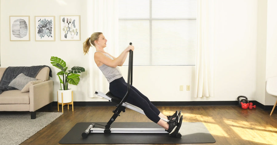 How to Use the SF-RW5720 Incline Rowing Machine