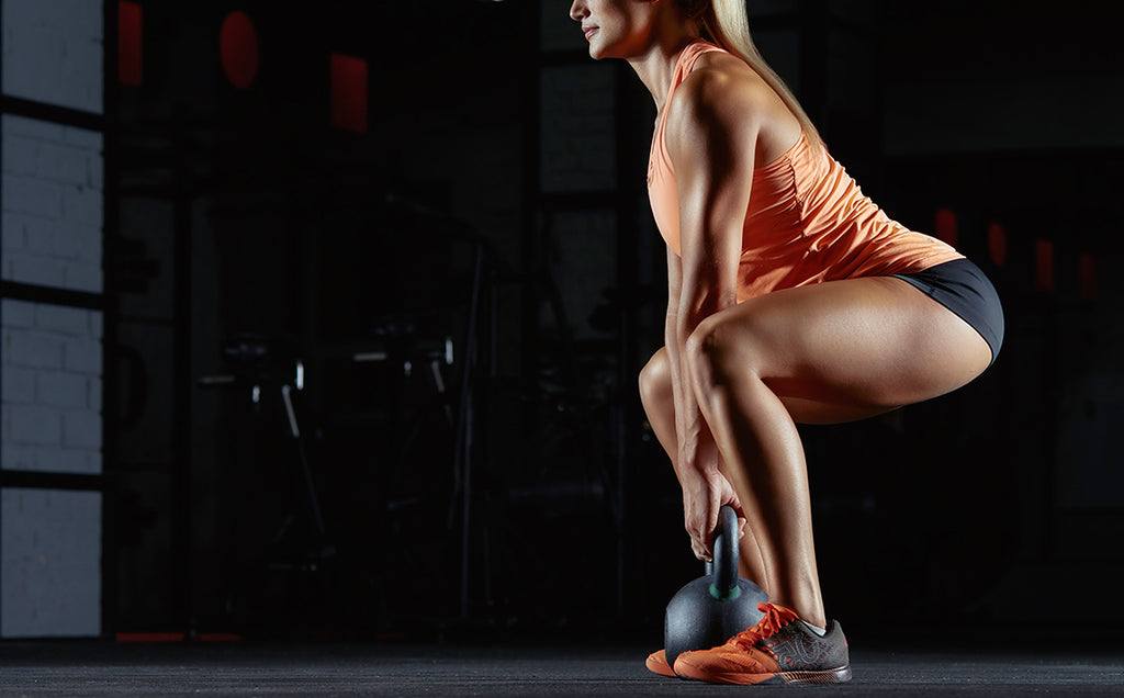 Lower Body Blaster Kettlebell Workout