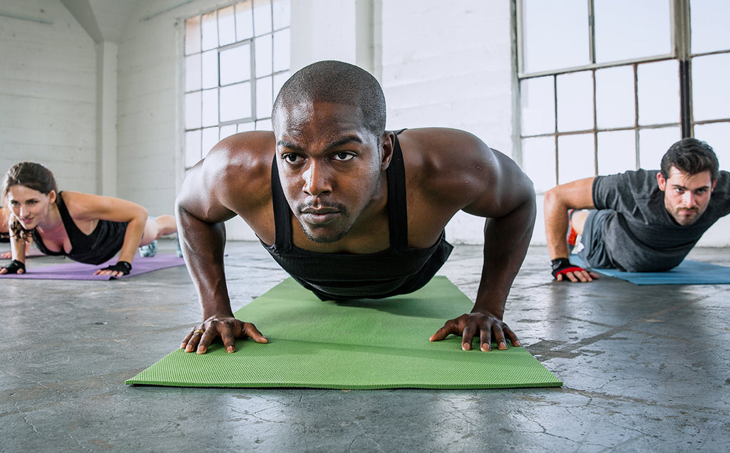 New Year New You, Workout A: Bodyweight and Hiit Training