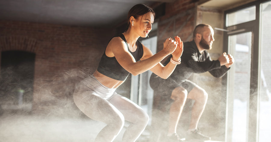 New Year New You, Workout B: High-Intensity Cardio & Bodyweight Circuit Training