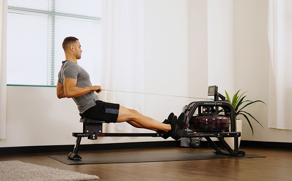 15 Min Obsidian Water Rower Interval Workout
