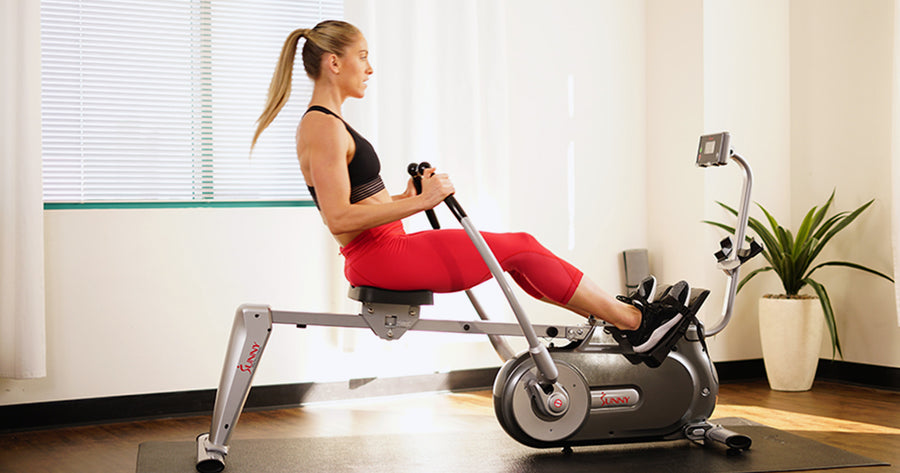 Rowing Tabata HIIT Workout Instruction