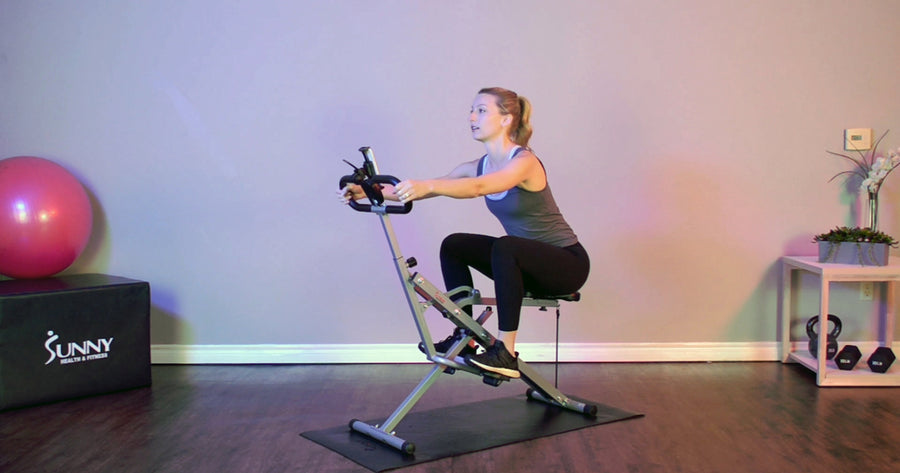 How to Target Glutes with the NO. 077 Row-N-Ride Upright Rowing Machine