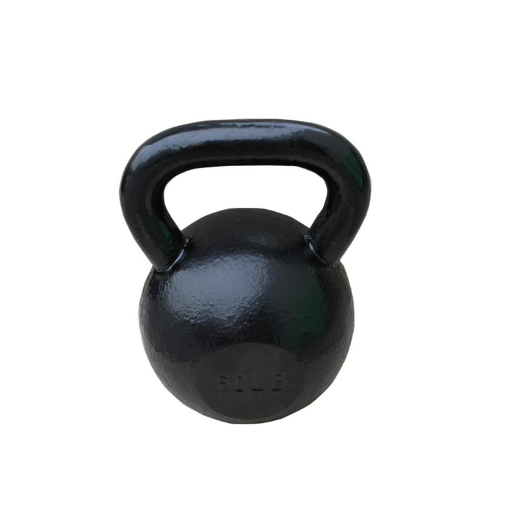 Black Kettlebells 30 to 90lbs - Sunny Health and Fitness