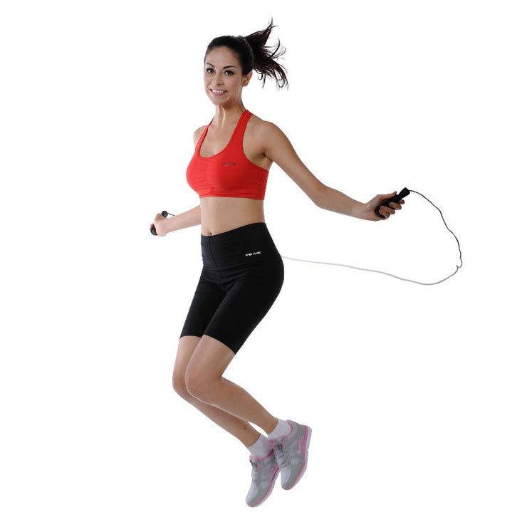 Sunny Heath & Fitness Leather Jump Rope (Foam Handle) - Sunny Health and Fitness