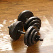 40LB. VINYL DUMBBELL SET - Sunny Health and Fitness