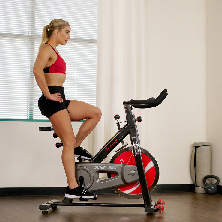 Chain Drive Indoor Cycling Trainer Exercise Bike