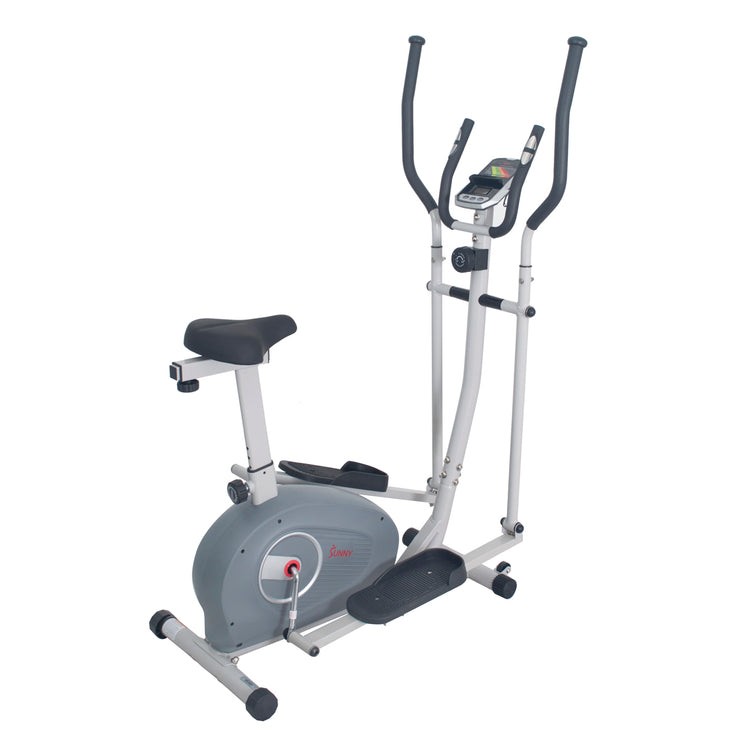 2 in 1 Magnetic Elliptical Upright Bike