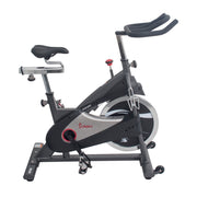 Clipless Pedal Premium Indoor Cycling Exercise Bike with Chain Drive