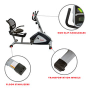 Endurance Zone Training Recumbent Bike