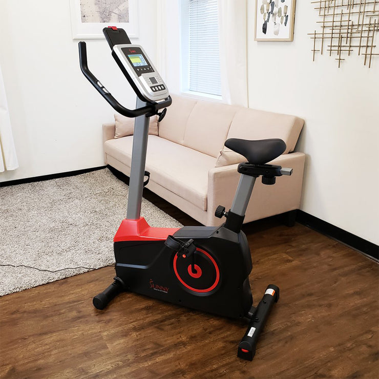 Evo-Fit Stationary Upright Bike with 24 Level Electro-Magnetic Resistance