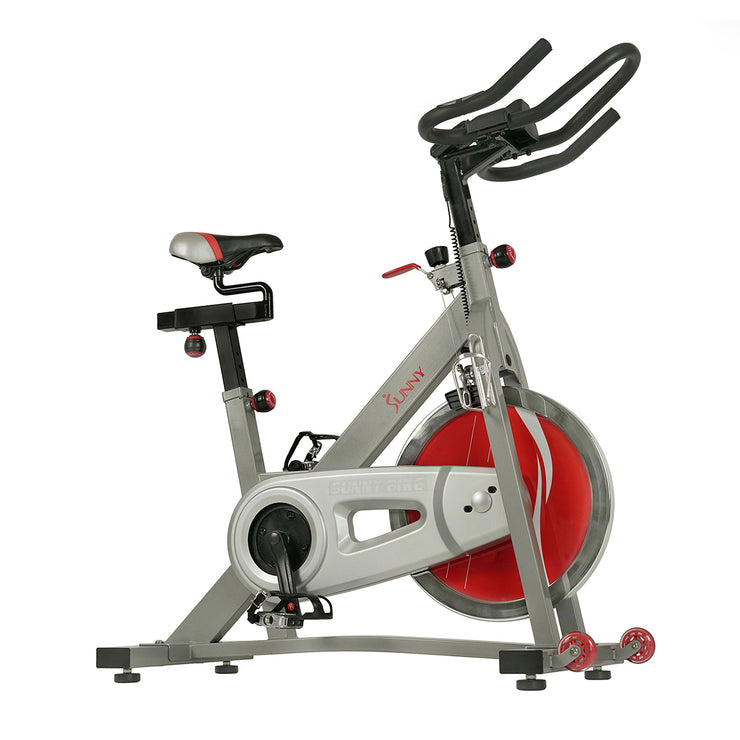 Fitness Pro II Indoor Cycling Bike with Device Mount and Advanced Display