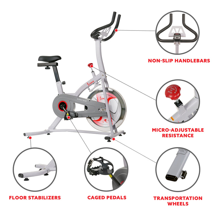 Indoor Cycling Bike with Magnetic Resistance